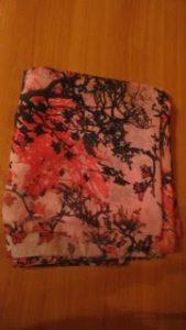 foulard-rose