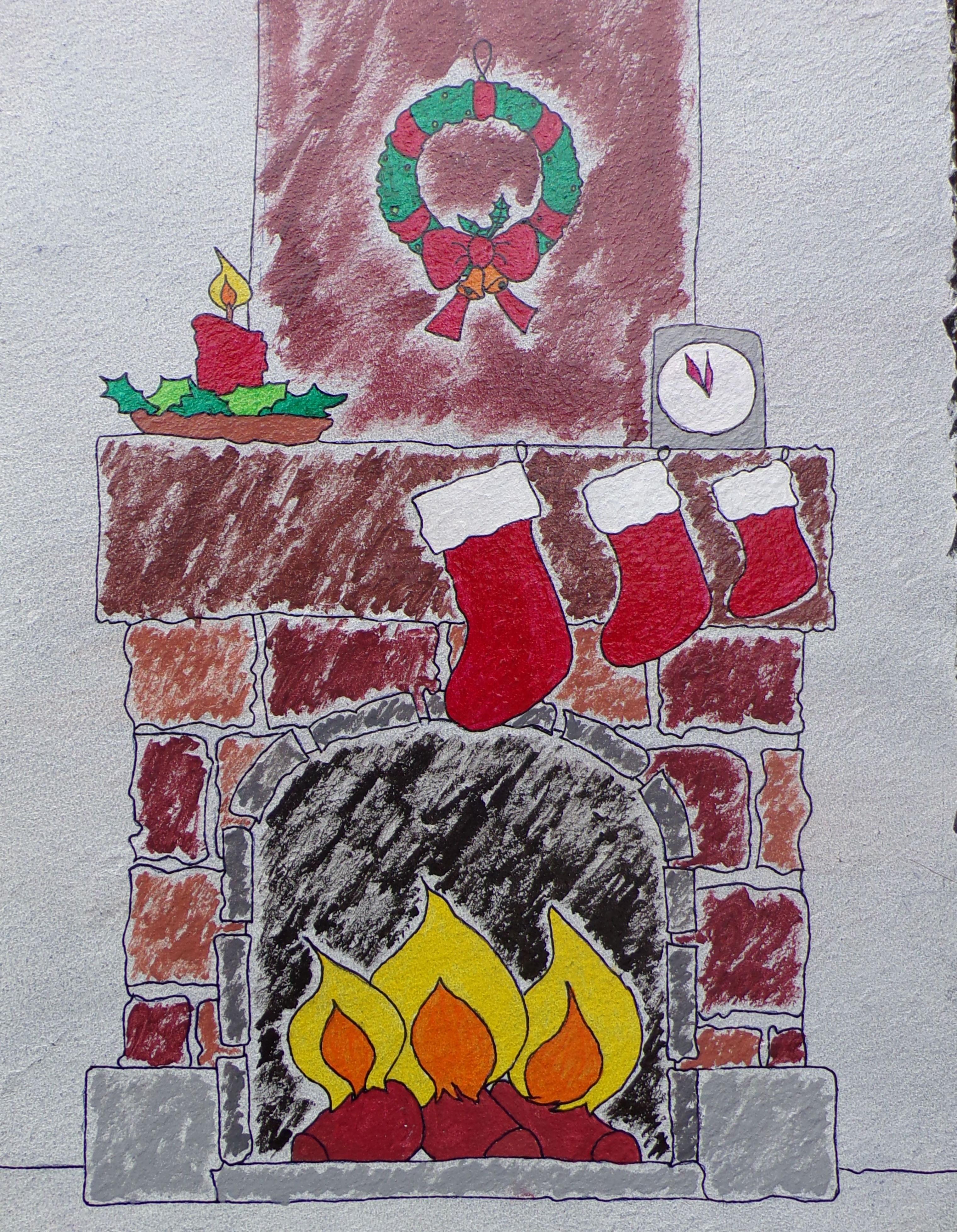 assiette-ardoise-cheminée